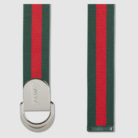 Gucci - Web belt with Gucci buckle