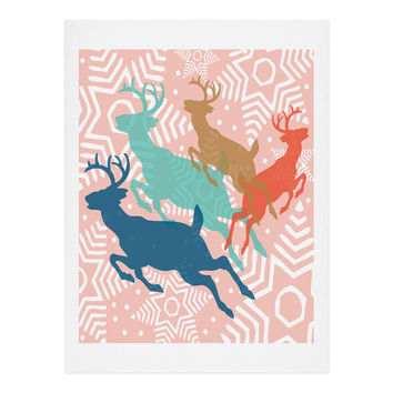 Heather Dutton Dashing Through The Snow Serene Art Print