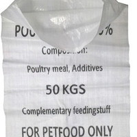 Laminated Polypropylene Woven Bags Pet Food Packaging Wholesale PP Woven Bags/Sacks Printing