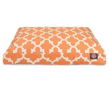 Trellis Rectangle Dog Bed by Majestic Pet Products