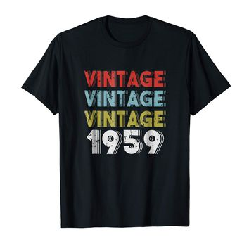 Retro Vintage Born In 1959 - 59th Birthday Gift