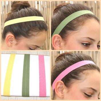 Elastic Headband, Gym hairband, Stretchy Headbands, Women Hair Accessories, Hair,Turban Head, Work out Head band