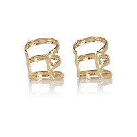 River Island Womens Gold tone ear cuffs pack