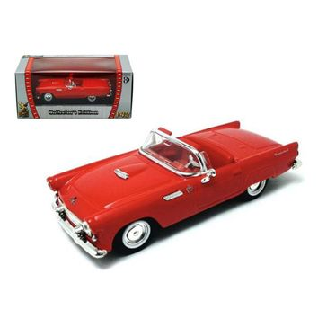 1955 Ford Thunderbird Red 1-43 Diecast Car by Road Signature
