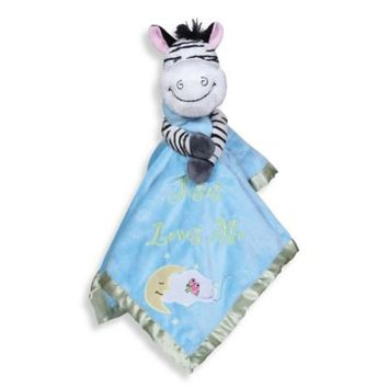 Precious Moments® Jesus Loves Me Blanket in Zach the Zebra