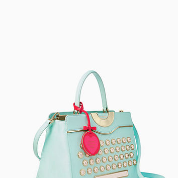 be mine typewriter satchel