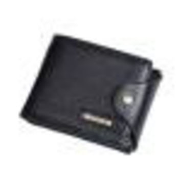 Wallets Mens PU Leather ID Card Holder Billfold Zip Purse Wallet Handbag Clutch bolso masculino CF