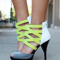 Caged Dancing Girl Heels