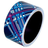 "Plaid Blue Duct Tape 1.88"" x 10 yds 1 roll"