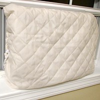 Evelots Window Air Conditioner Cover-Indoor-Quilted-Heat Stays In-Cold Air Out