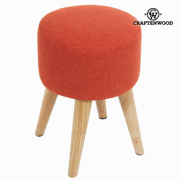 Sixty round stool red - Love Sixty Collection by Craften Wood