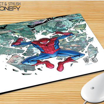 Superior Spiderman Mousepad Mouse Pad|iPhonefy