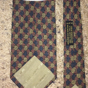Sale!! Vintage GIORGIO ARMANI Cravatte Silk tie men's designer necktie Made in ITALY
