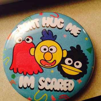 DHMIS: Puppet Trio Button