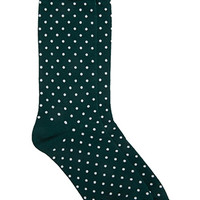 Micro-Dotted Socks
