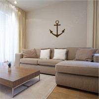 Large Anchor wall decal