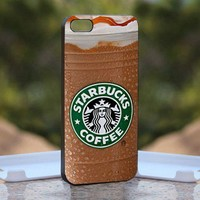 Starbucks Coffee, Print on Hard Cover iPhone 5 Black Case