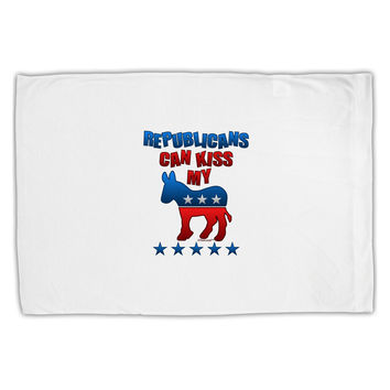 Republicans Can Kiss My - Democrat Standard Size Polyester Pillow Case
