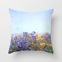 Life Is Beautiful Throw Pillow by Shawn King