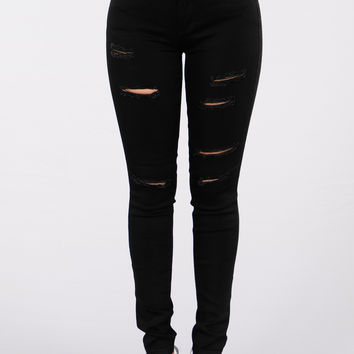 Never Hide Jeans - Black Wash