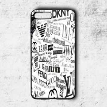 Top Sticker Bomb Fashion Pattern Case For iPhone 6 6s 7 8 Plus Samsung Cover +