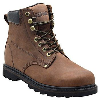 """""""Tank"""" Men's Soft Toe Oil Full Grain Leather Insulated Work Boots"""
