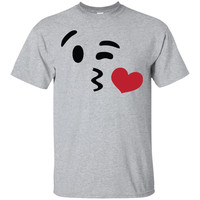 Kissing Face Emoji Shirt