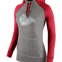 Nike Platinum All Time Pullover (NFL Chiefs) Women's Training Hoodie