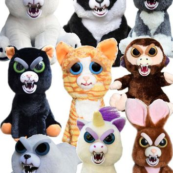 Feisty Pets Plush Stuffed Animals by William Mark-Many Varieties and Expressions