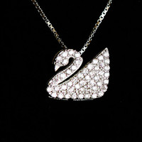 Jewelry New Arrival Shiny Stylish Gift 925 Silver Accessory Lovely Lock Pendant Necklace [7587139271]