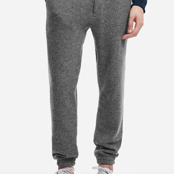 Ken Wool Faced Sweatpant, Ash Heather | Saturdays NYC