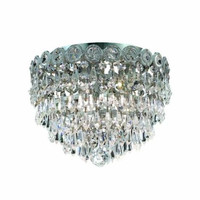 Agathe - Flush Mount (3 Light Modern Flush Mount Crystal Chandelier) - 1617F10
