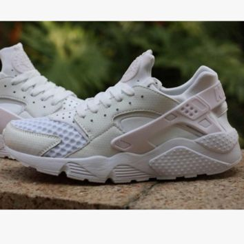 Nike Drops the Air Huarache Ultra Sports shoes Pure white net