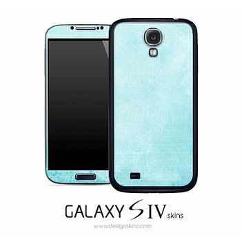 Antique Light Blue Skin for the Galaxy S4