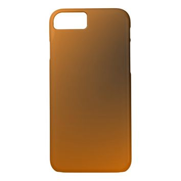 Orange Black Gradient iPhone 7 Case