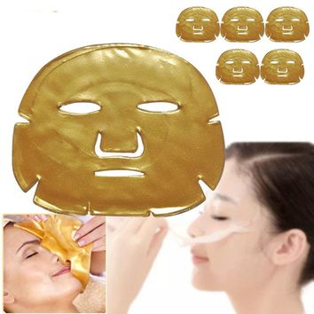 Gold Crystal Collagen Powder Face Mask