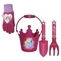 Disney Princess Bucket, Jersey Gloves and Tools