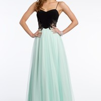 Two-Toned Tulle Dress