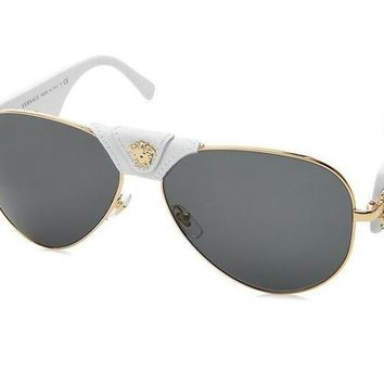 c6ff4d153d Versace Trending Cool Women Men Personality Summer Sun Shades Eyeglasses  Glasses Sunglasses I
