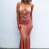 All Dolled Up Maxi: Rose Gold