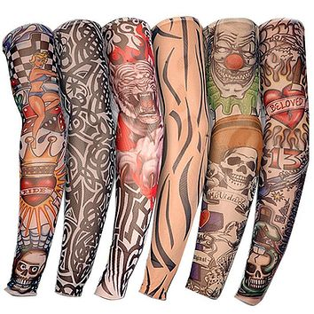 6pcs Tattoo Arm Sleeves Kit
