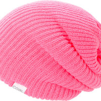 Coal Girls Super Slouch Neon Pink Beanie