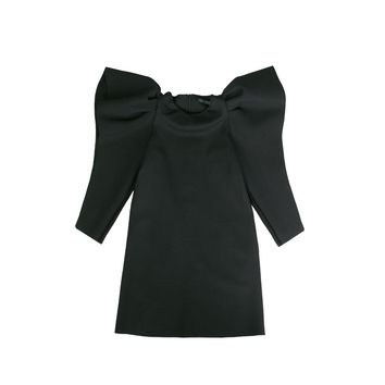 MUMMYMOON Girls' Black King Dress