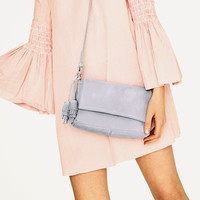SPLIT SUEDE CROSSBODY BAG - BAGS-TRF | ZARA United States