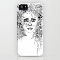 Garden Girl iPhone & iPod Case by 32 and dropping