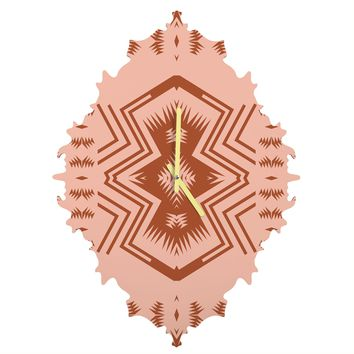 Holli Zollinger COLORADO BLUSH Baroque Clock