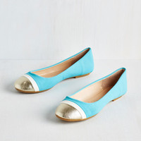 Colorblocking Twinkle Prose Flat