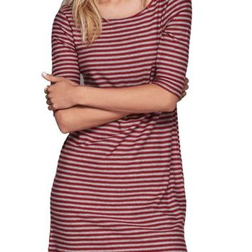 Free People 'Frenchie' Stripe Cotton T-Shirt Dress | Nordstrom