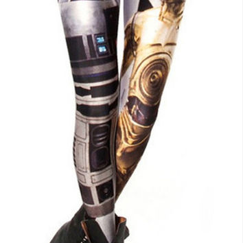 Design 443 - Artoo threepio leggings