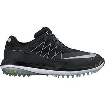 Nike Men's Lunar Control Vapor Golf Shoes (Medium) (12 M, Black/Metallic Silver-White)